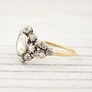 Erstwhile jewelry vintage victorian engagement ring