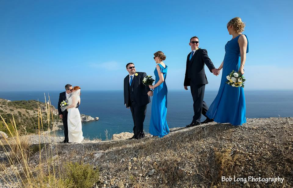 Married in Nerja...Nora & Martin say I Do!