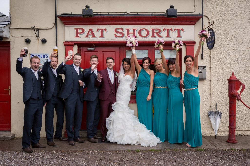Kathryn & Cormac Real Life Wedding