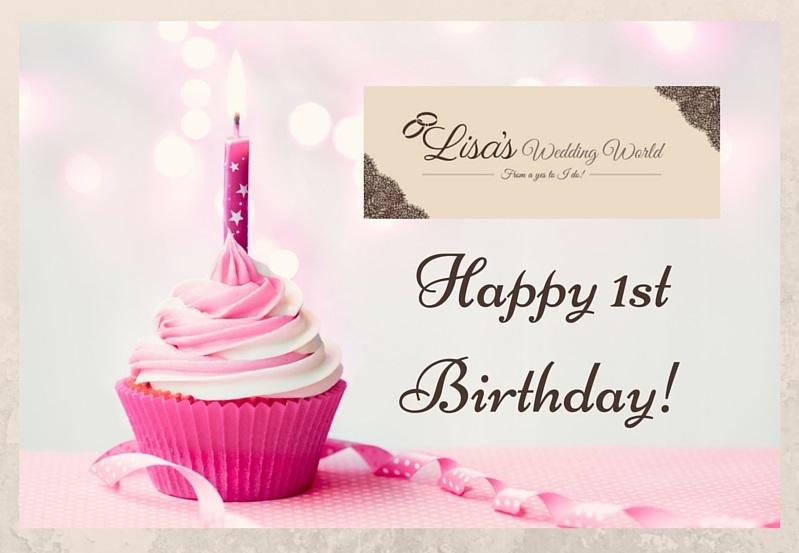 Happy 1st Birthday to me!