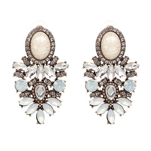 Carmel Earrings - Oyster
